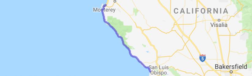 Pacific Coast Cruise; Hwy 1 |  California