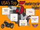 top 5 best motorcycle rides in the USA