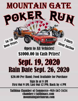 Mountain Gate Poker Run |  Oklahoma