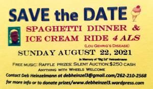 Ice Cream Ride to Benefit ALS (Lou Gehrig's Disease) |  Wisconsin