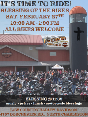 Blessing of the Bikes |  South Carolina