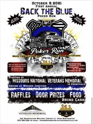 Back the Blue Poker Run |  Missouri
