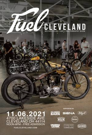 Fuel Cleveland 2021 - Free Vintage Motorcycle, Art, and Photography Show! |  Ohio
