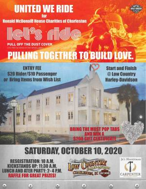 United We Ride for RMHC |  South Carolina