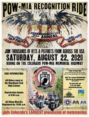 33rd Annual POW/MIA Recognition Ride |  Colorado