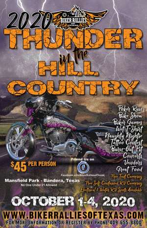 Thunder in the Hill Country |  Texas