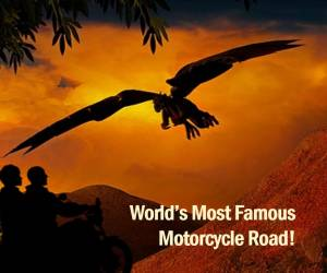 Dragon motorcycle road is the most famous motorcycle road in the world