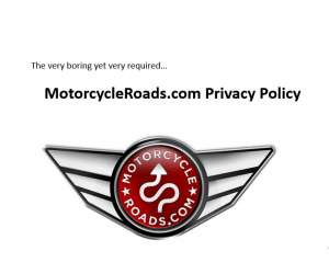 MotorcycleRoads.com privacy policy
