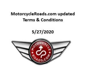 MotorcycleRoads.com terms & conditions
