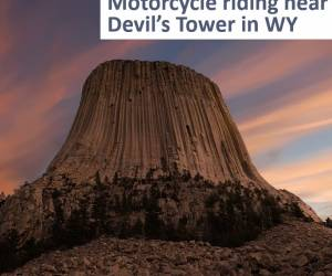 Best Devil's Tower area motorcycle rides near the Sturgis Motorcycle Rally