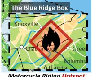 blue ridge box motorcycle riding hotspot