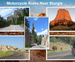 Best motorcycle rides near the Sturgis Motorcycle Rally