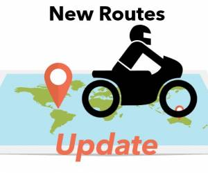 new motorcycle road update