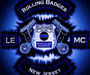 Rolling Badges Law Enforcement Motorcycle Club |  New Jersey