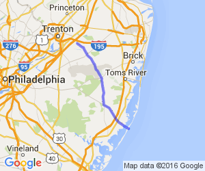 Allentown to LBI (539&72) |  New Jersey