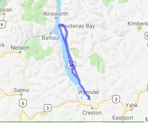 Creston to Kootenay Bay (British Columbia, Canada) |  Canada