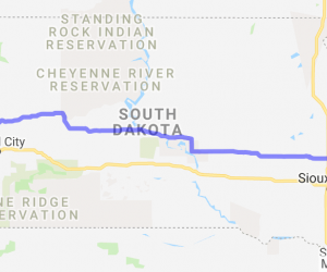 Highway 34 from Sturgis to the MN border |  South Dakota