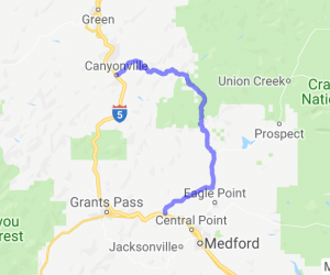 Gold Hill to Canyonville |  Oregon