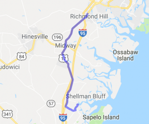 Richmond Hill to Pelican Point Restaurant |  Georgia