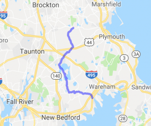 Scenic Route 105 |  Massachusetts