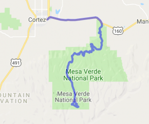 Cortez to Mesa Verde National Park |  Colorado