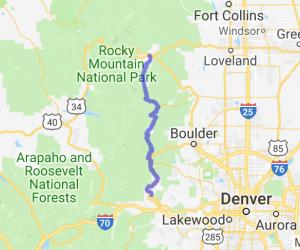 Peak to Peak Highway |  Colorado