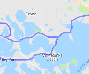 Lake Minnetonka Shoreline Drive |  Minnesota