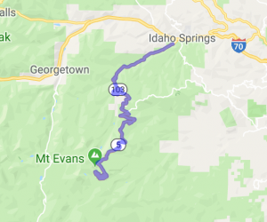 "The ""High 5"" to Mt. Evans |  Colorado"