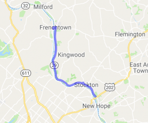 Route 32 River Road |  New Jersey