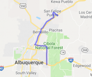 Albuquerque to Casino Hollywood |  New Mexico