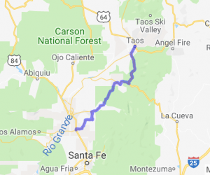 High Road to Taos Scenic Byway |  New Mexico