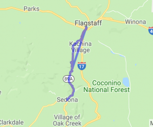 Flagstaff to Sedona on the Incredible 89A |  Arizona