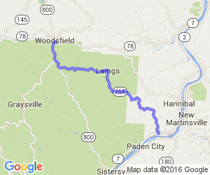 Ohio Route 255 - Woodsfield to Sardis |  Ohio