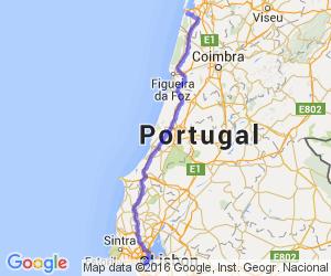 Silver Coast Route |  Portugal