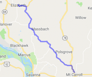 Mt. Carroll to Elizabeth |  Illinois