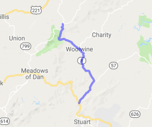 Woolwine Hwy to Tuggles Gap |  Virginia
