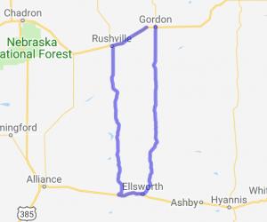 Sandhills Loop |  Nebraska