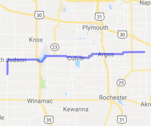 Route 10 to Kerstings Harley and Motorcycle Museum |  Indiana