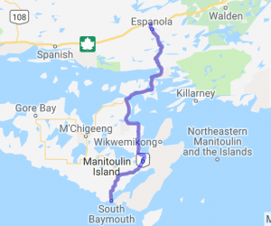 Manitoulin Island Run (Ontario, Canada) |  Canada
