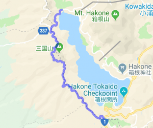 Ashinoko Skyline (Toll Road)    Japan