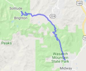 Guardsman Way to Pine Canyon Drive |  Utah