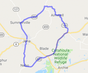 LaSalle and Catahoulla Parish Line Ride |  Louisiana