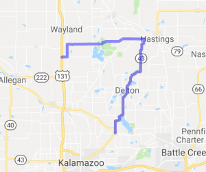 Richland to Shelbyville |  Michigan