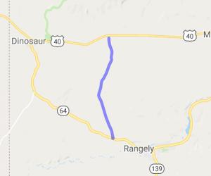 Rangely to Blue Mountain on CR 1    Colorado