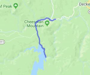 Cheesman / Wellington Lake Tour    Colorado