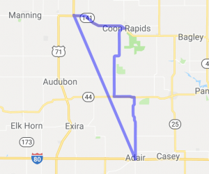 West Central Iowa Rolling Hills |  Iowa