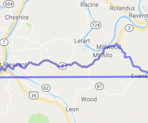 Ripley, WV to Gallipolis, OH |  Ohio