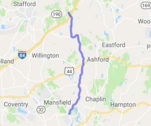 CT Route 89 North |  Connecticut