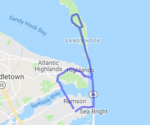 Northeastern New Jersey Triangle: Rumson-Sandy Hook-Sea Bright |  New Jersey