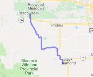 Bragg Creek to Turner Valley (Alberta, Canada) |  Canada